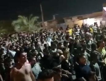 ifmat - Solidarity with Khuzestan water protests spills into other Iranian provinces