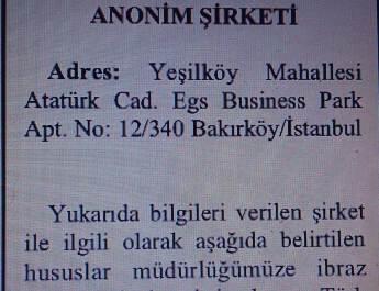 ifmat - Turkey-based JJO General Trading lists sanctioned terror financier as the sole board member1