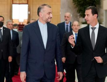 ifmat - Iran FM arrives in Damascus to discuss Baghdad regional summit