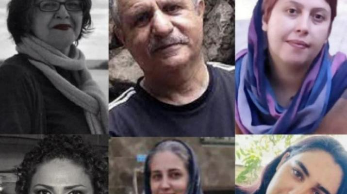 ifmat - Seven political activists sentenced to total of 53 Years in prison