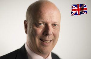 Chris Grayling - Secretary of State for Transport UK