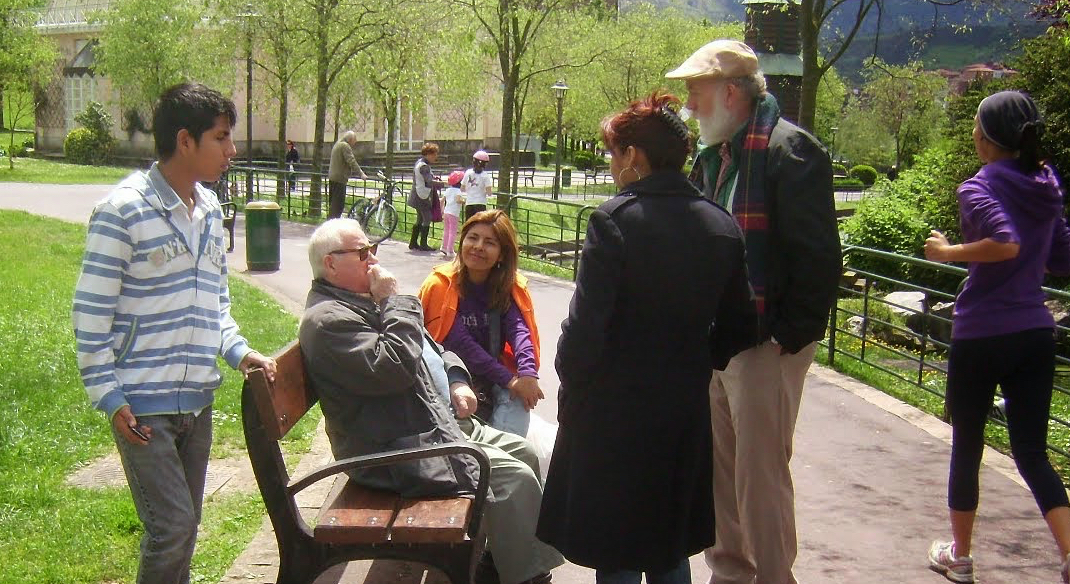 Evangelizando en Bilbao, País Vasco