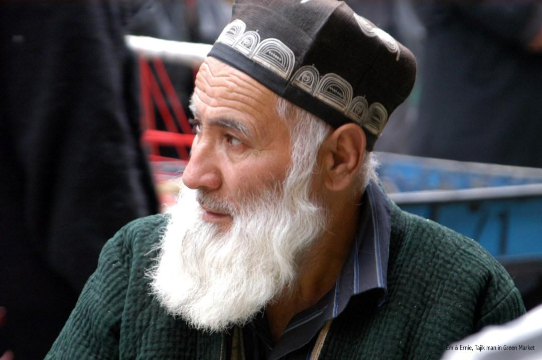 Hombre Tayiko en Mercado Verde