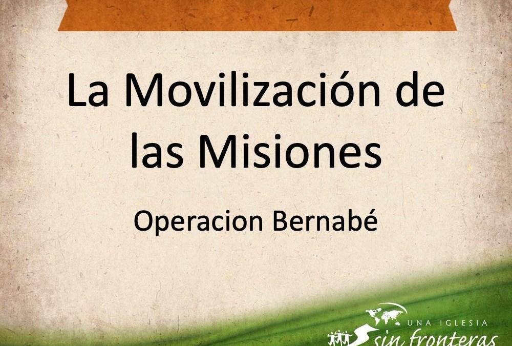Movilizando a las Misiones Mundiales