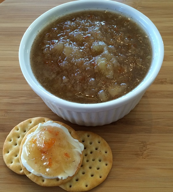 Golden Habanero, Bourbon and Pear Jam