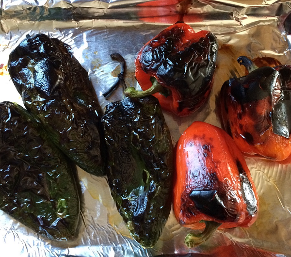 Making Your Own Roasted Peppers