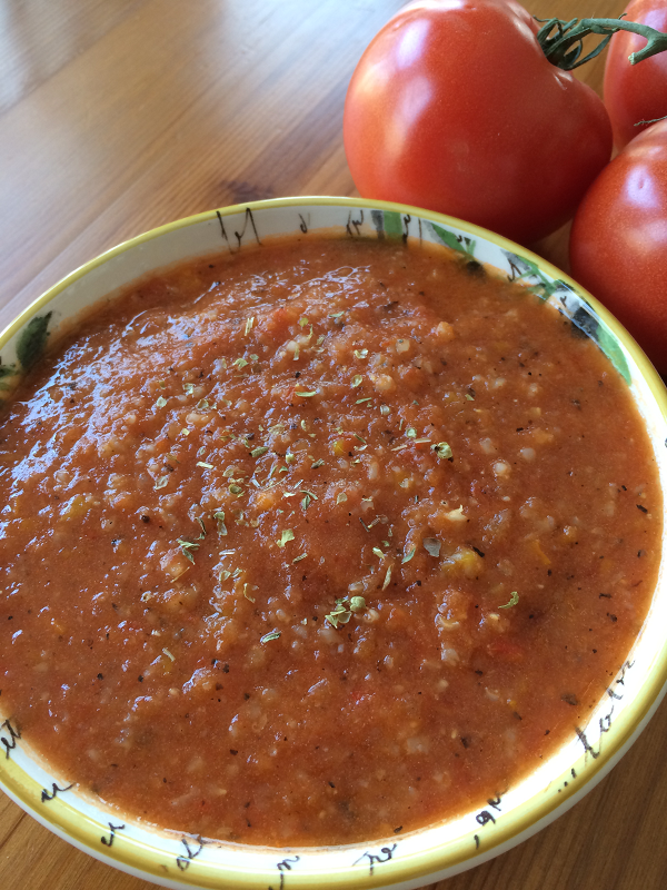 Fire-Spiced Tomato Bisque
