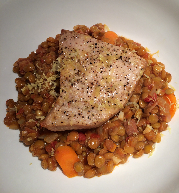 roasted-swordfish-with-lentils