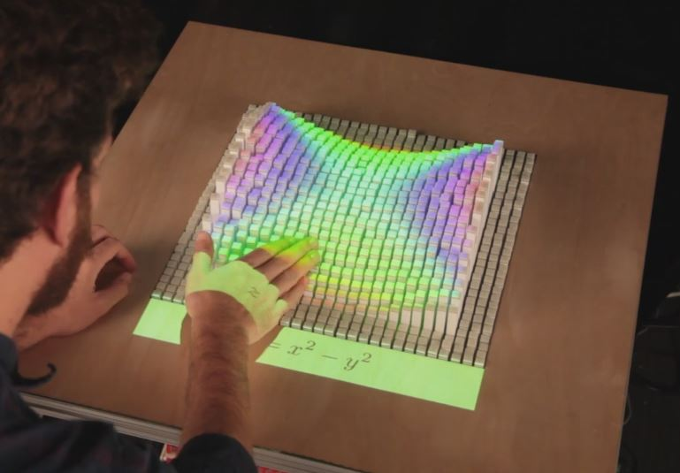 inFORM – Interacting With a Dynamic Shape Display