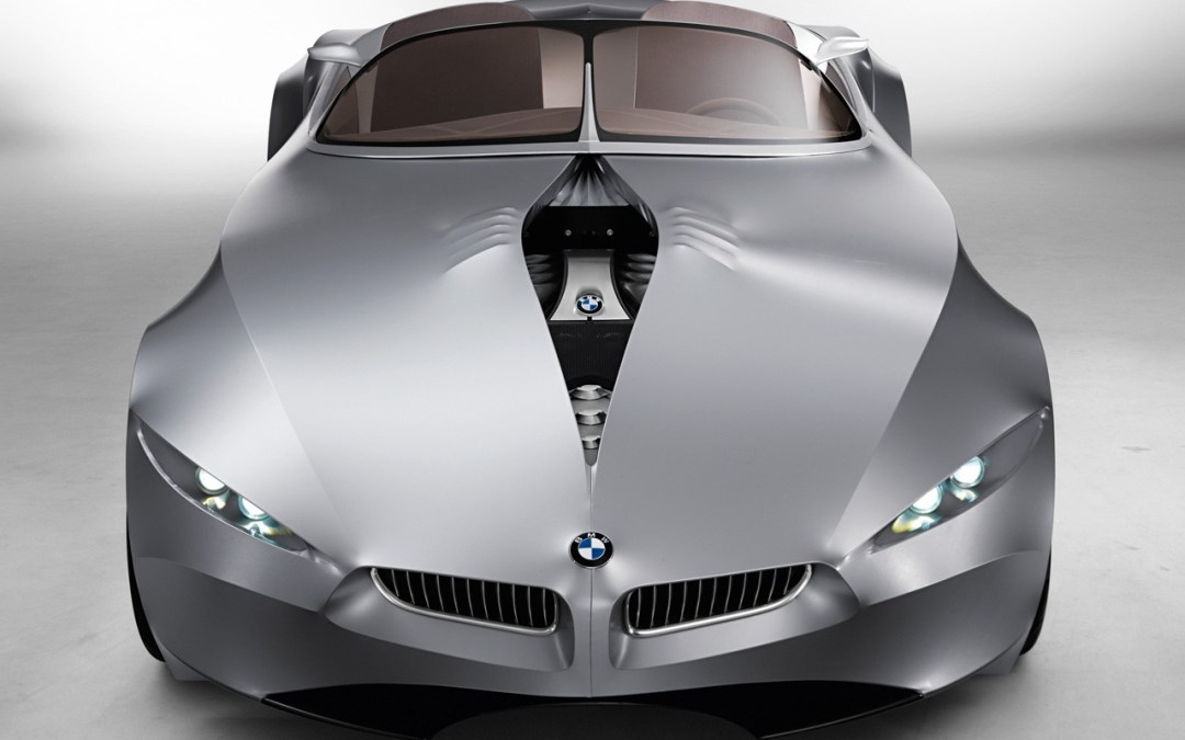 BMW a car that can blink