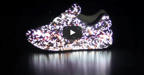 Sneaker projection mapping