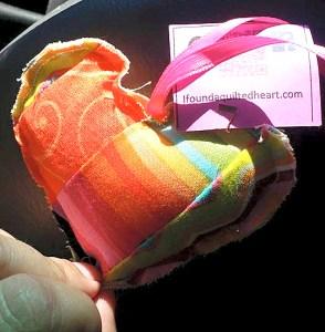 Rainbow Heart X