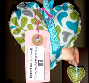 Teal and Olive Heart WX