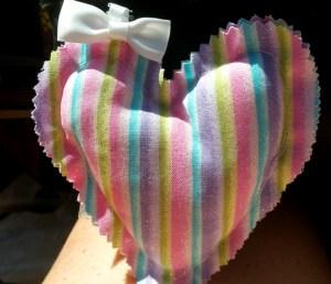 Striped Heart WX