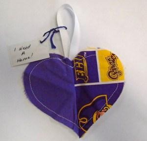 Yellow Purple Heart   WX