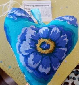 Blue heart WX