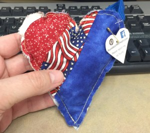 Patriotic Heart WX