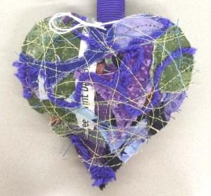 Scrappy Purple Heart