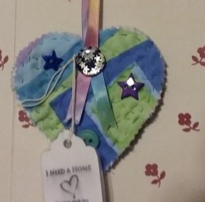 Star button heart
