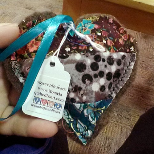 Teal Ribbon Heart WX