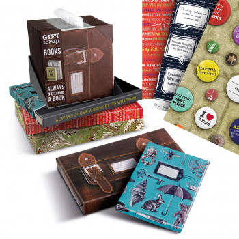 Gift Wrap For Books – Wrapping Paper - IF