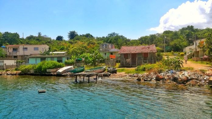 Baia di Cienfuegos e il villaggio dei pescatori