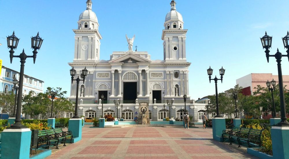 La bella cattedrale di Santiago De Cuba