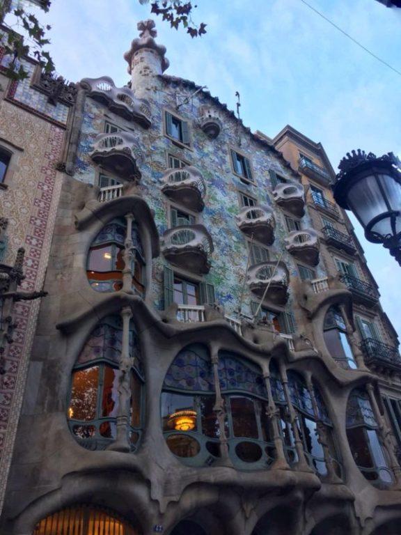 casa battló un fine settimana Barcellona