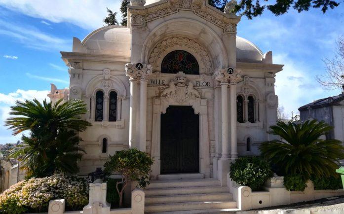 Valle Flor Family, Cimitero Dos Prazeres Lisbona 2018