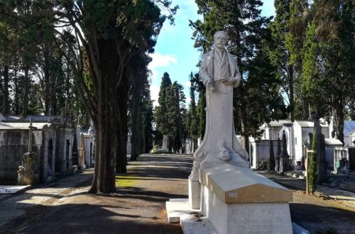 Cimitero Monumentale Dos Prazeresdi Lisbona