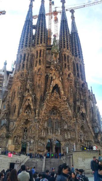 MagicaBarcelona, Sagrada Familia,