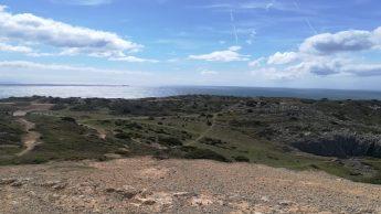 La belelzza della natura visibile durante un'escursione a Cabo Espichel