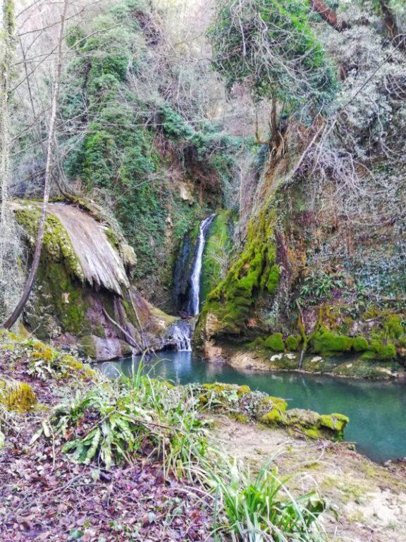 sentieri naturali per visitare la cascata delle marmore