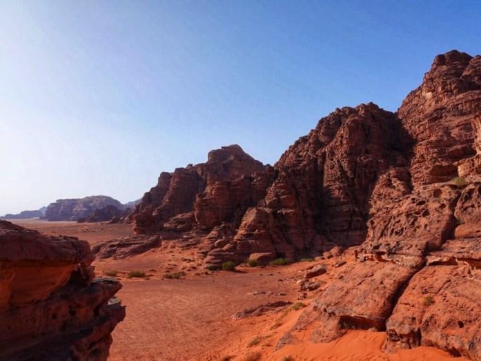 rocce deserto giordano