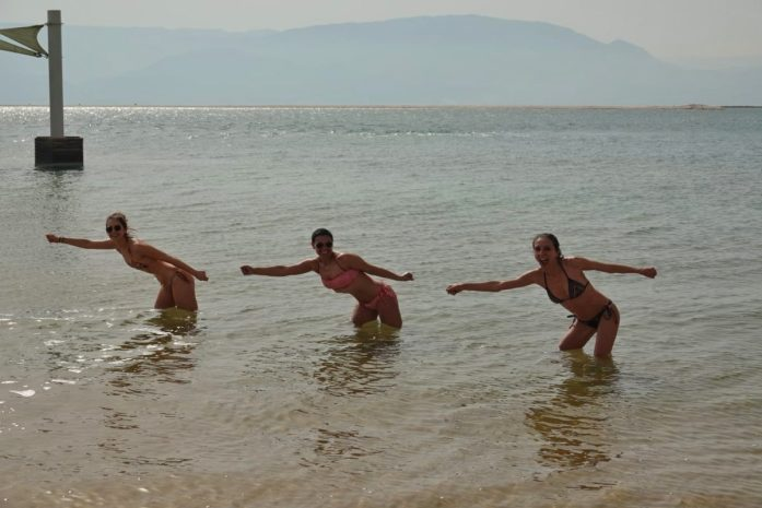 divertimento nel mar morto e masada