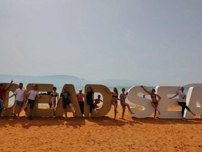 gruppo viaggio bhs travel advisor nel mar morto