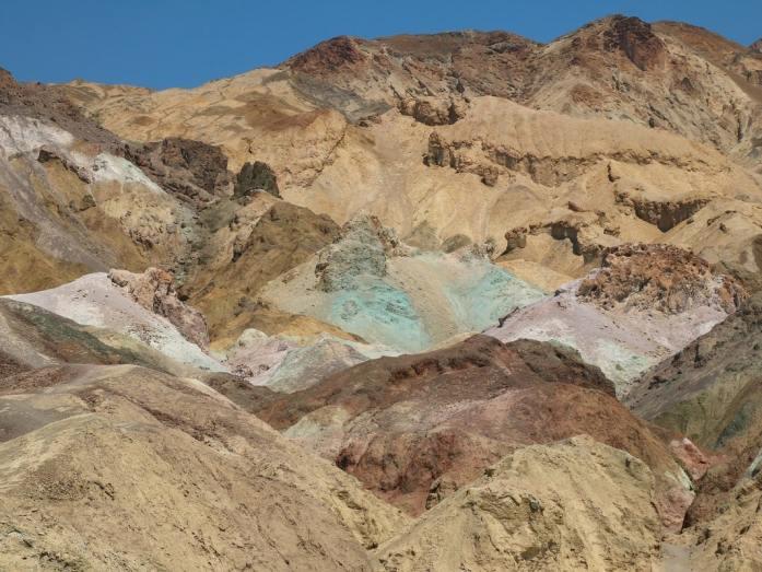colori montagne della death valley