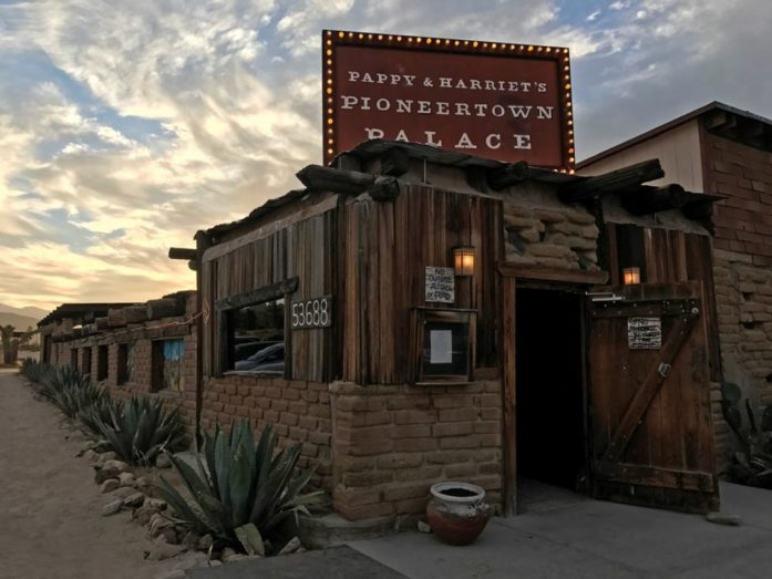 pappy and harriet's cenare pioneertown