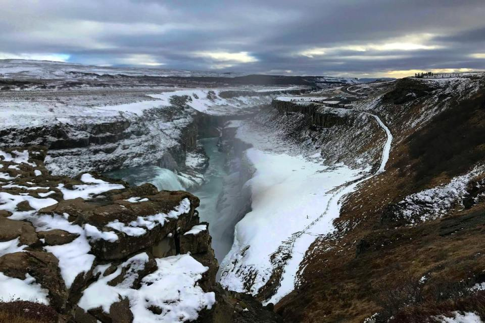 qual è la cascata d'oro in islanda