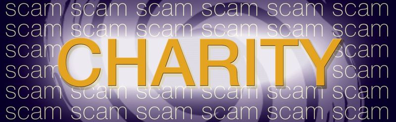 Fake charities Scam