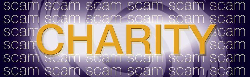 Fake charities Scam