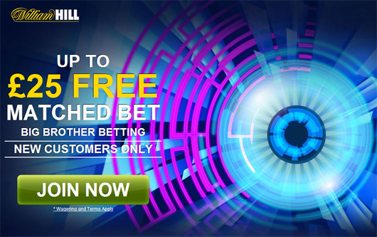William Hill Big Brother