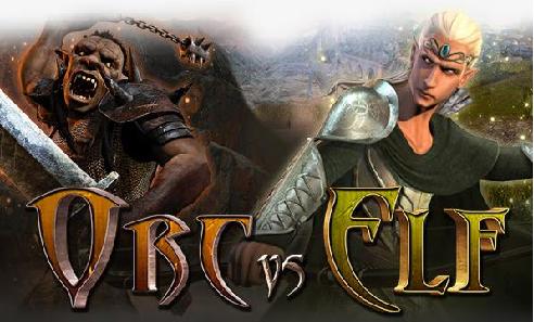 Orc Vs Elf 3D