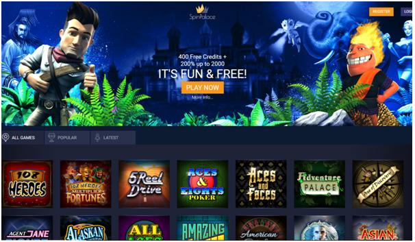 Spin Palace Fun Casino To Play Free Pokies
