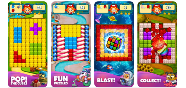 Toon Blast game app