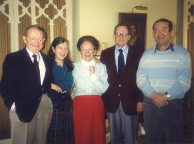 I.F. Stone with family