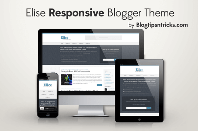 Elice - A Responsive Blogger Template
