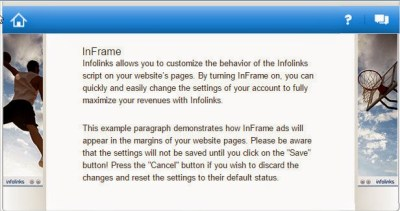 Inframe Optimize Infolinks Ads