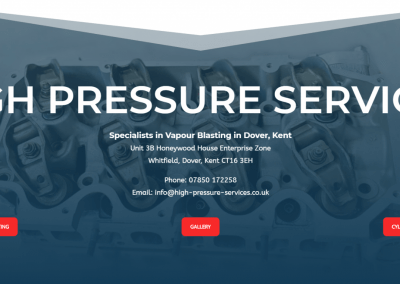 High Pressure Services
