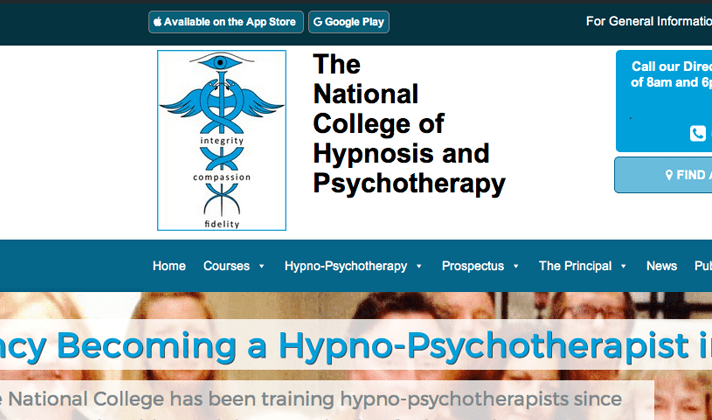 UKCP and European Accredited Hypnotherapy & Hypno-Psychotherapy Training